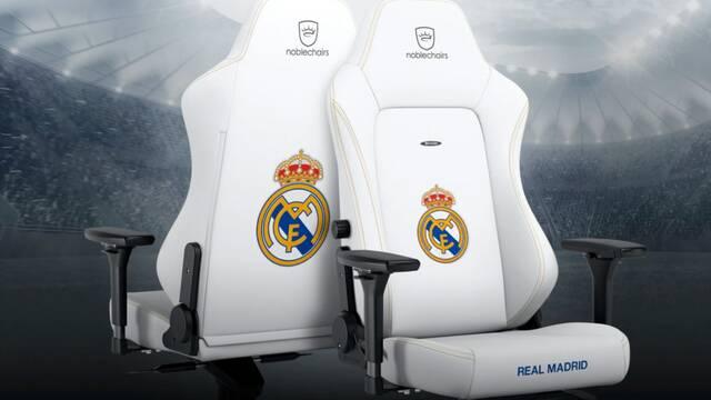 Merengue, la silla gamer del Real Madrid ya está aquí de la mano de noblechairs