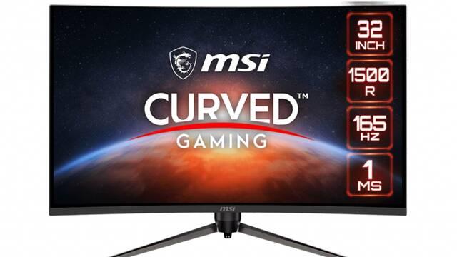 MSI presenta su nuevo monitor curvo para jugar 1440p de 31,5 pulgadas y 165 Hz