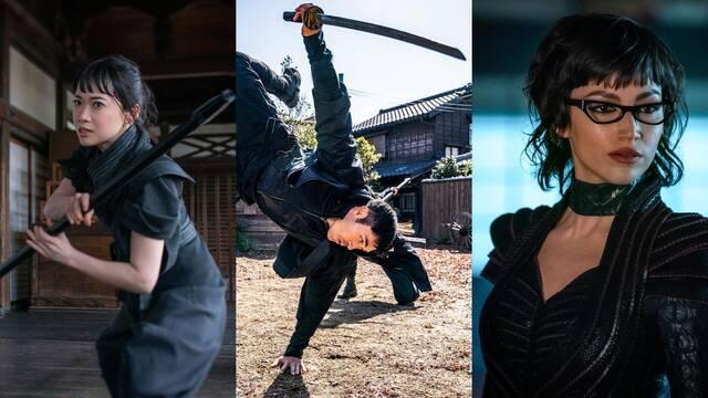 Snake Eyes: Úrsula Corberó se luce en las primeras imágenes del spinoff de G.I. Joe
