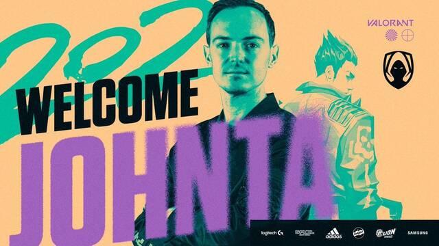 Team Heretics ficha a Johnta como entrenador para su equipo de Valorant