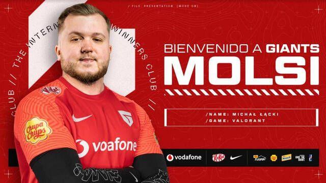 Vodafone Giants presenta su nuevo equipo de Valorant