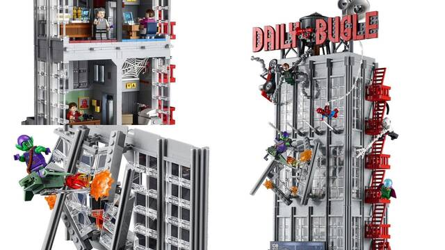 LEGO presenta su impresionante y gigantesco set de Spider-Man y el Daily Bugle