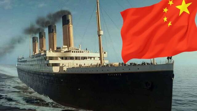China está construyendo una réplica del Titanic a tamaño real