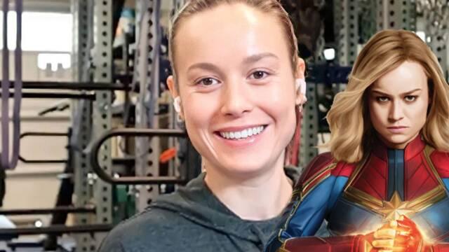 Brie Larson se prepara y entrena para 'Capitana Marvel 2' con la música de Miley Cyrus