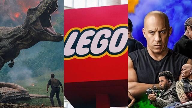 Las películas de LEGO buscan ampliar su universo con 'Jurassic World' y la saga 'Fast'