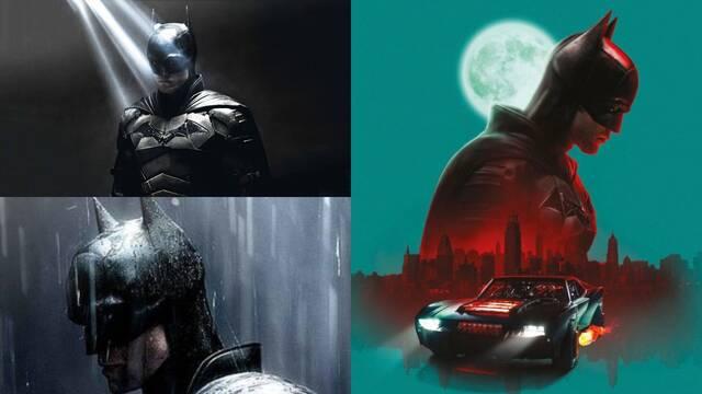 The Batman: Nuevas imágenes oficiales muestran el Batmóvil y el traje de Robert Pattinson