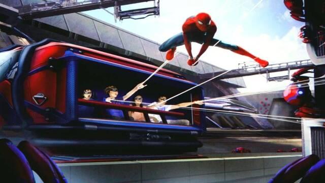 Disneyland: La atracción de Spider-Man contará con lanzadores de telarañas reales
