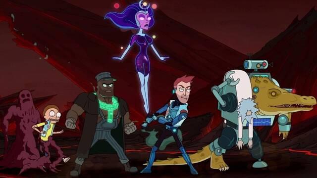 Vindicators: En marcha el spin-off de Rick y Morty que se mofa de Avengers