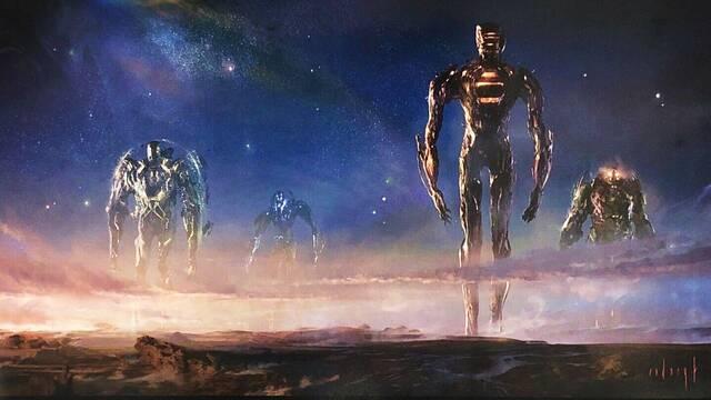 Los Eternos: Quiénes son los Celestiales y el posible próximo gran villano de Marvel