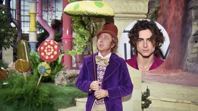 Timothée Chalamet será Willy Wonka en la película de los orígenes del personaje