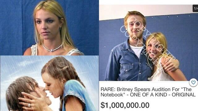 El vídeo del casting de Britney Spears para 'El diario de Noa' bate récords en una subasta