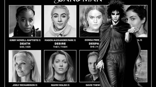 The Sandman: Netflix anuncia nuevas incorporaciones al reparto