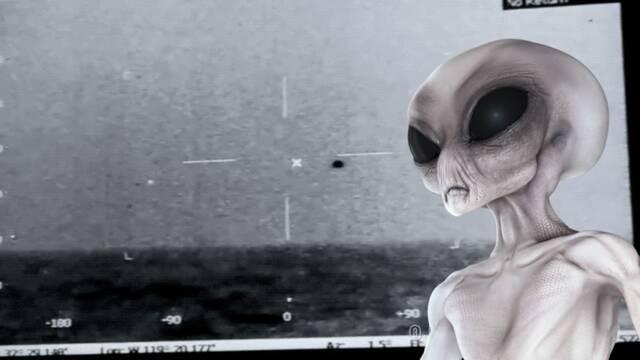 La Marina muestra nuevas imágenes de un OVNI que se sumerge en el océano