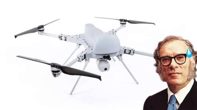 Adiós a las leyes de la robótica: Un dron ataca a humanos de manera autónoma