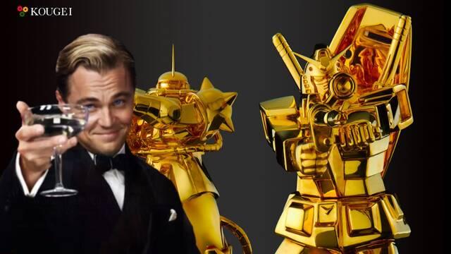 Gundam: Las estatuas de oro salen a la venta en Japón por 200.000 euros