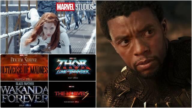 Marvel muestra más de The Eternals y los títulos de Black Panther 2 y Capitana Marvel 2