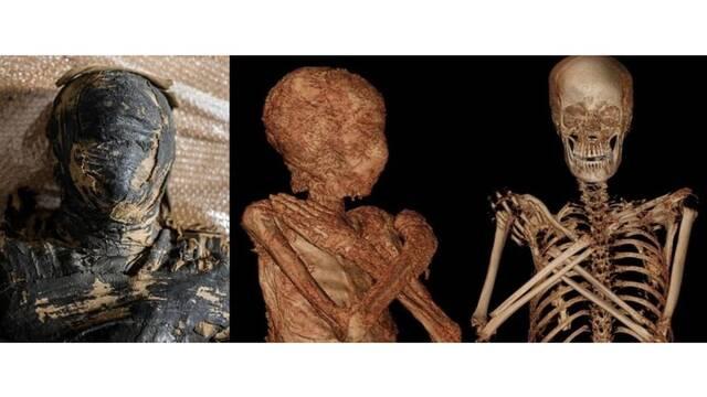 Descubren a la primera momia embarazada del Antiguo Egipto