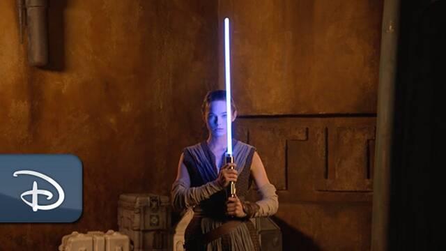 Star Wars: Disney presenta su primer sable de luz 'real' y es espectacular