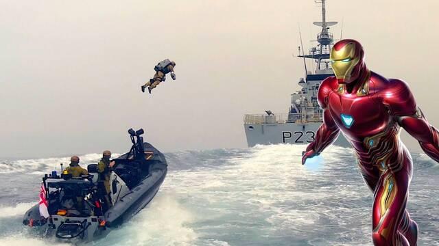 Iron Man se hace real: El ejército de Reino Unido estrena jetpacks en sus tropas