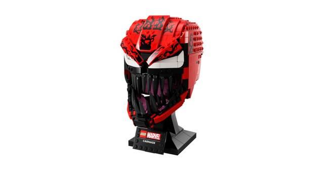 Venom 2: LEGO presenta el busto oficial de Carnage