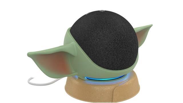 Baby Yoda se convierte en un nuevo y adorable soporte para el Echo Dot