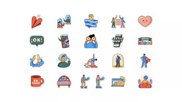 WhatsApp hará más fácil el uso de los stickers con un buscador automático