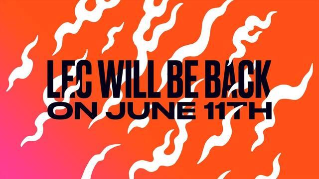La LEC comenzará el Summer Split 2021 el 11 de junio