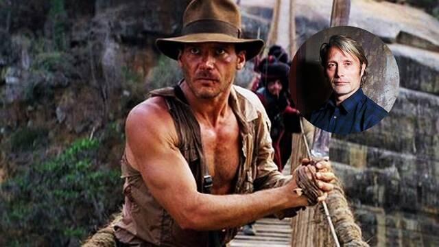 Indiana Jones 5: Mads Mikkelsen alaba el guion de la quinta entrega