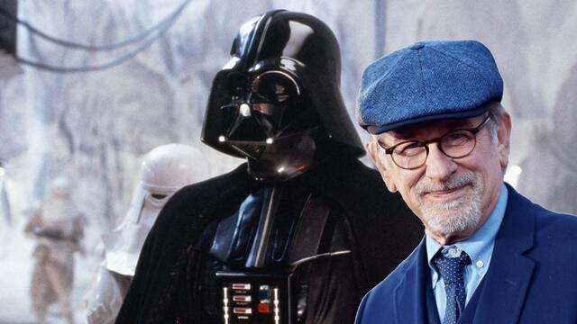 Star Wars: Aparece una imagen de Steven Spielberg vestido como Darth Vader