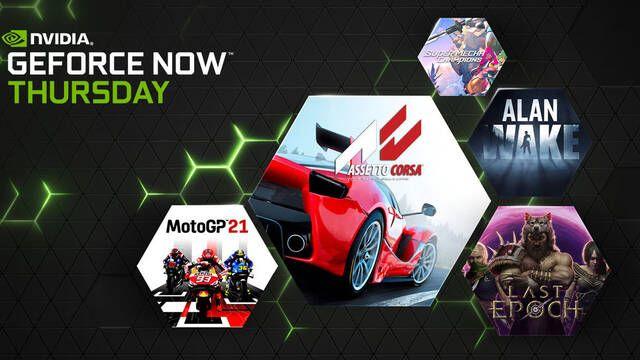 GeForce Now tendrá 61 nuevos juegos disponibles en mayo, Alan Wake disponible desde hoy