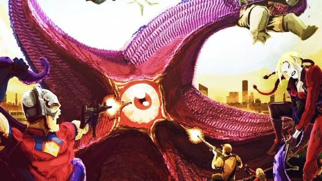 Escuadrón Suicida: James Gunn comparte una ilustración de Starro como el villano