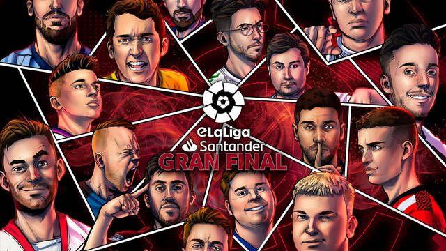 Sigue en directo la Gran Final de eLaLiga Santander