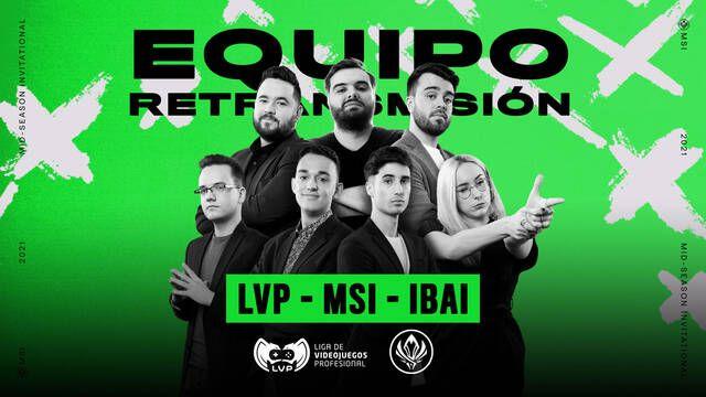 Ibai Llanos vuelve a LVP para castear y emitir el MSI de League of Legends