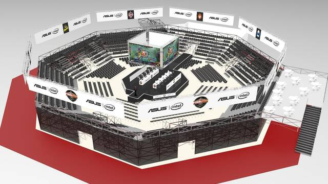 Así será el impresionante escenario de League of Legends en Gamergy