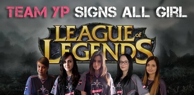 Team YouPorn forma un equipo femenino de League of Legends, pero Riot no les dejará competir
