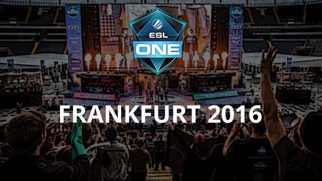 Sigue en directo la ESL One Frankfurt 2016 de DOTA 2
