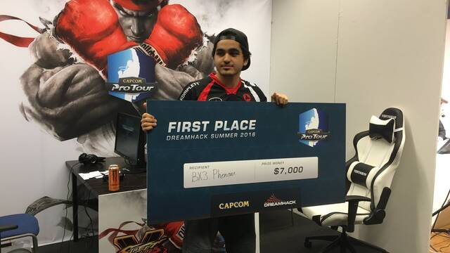 Phenom gana la DreamHack Summer de Street Fighter V