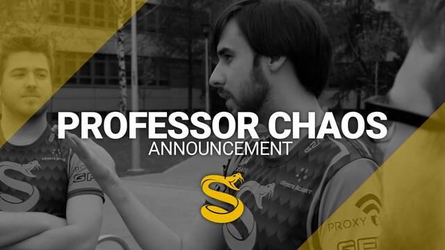 Professor_Chaos entrenará a Splyce