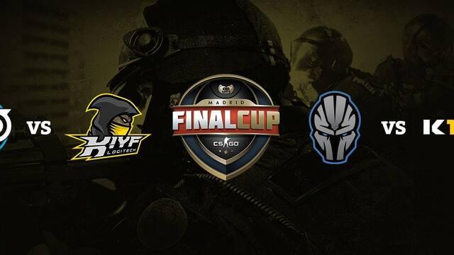 Gamergy en directo: Final Cup de CS:GO