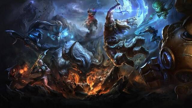Las partidas clasificatorias por equipos de 5 VS. 5 vuelven a League of Legends