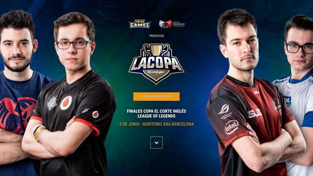 Barcelona acoge la final de la Copa de la División de Honor de League of Legends