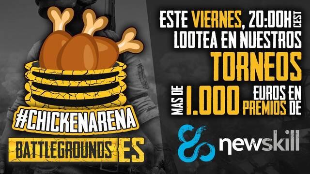TGX y Newskill presentan la primera competición de Playerunknown's Battlegrounds en España