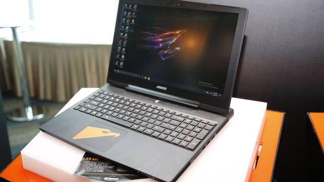 Así es el Aorus X5 MD, uno de los portátiles gaming más finos que están por llegar