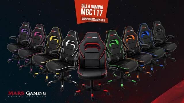 Mars Gaming nos presenta su silla MGC117 para jugadores