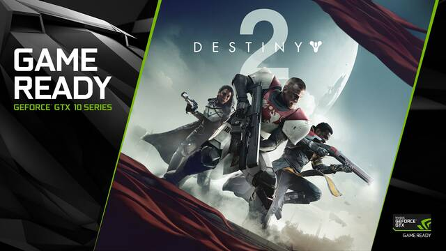 Por la compra de las NVIDIA GTX 1080 o GTX 1080 Ti tendremos gratis el Destiny 2