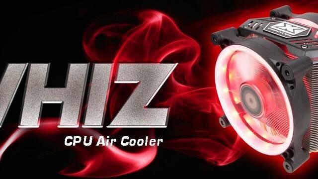 Xigmatek lanza Whiz, un sistema de refrigeración por aire con dos ventiladores