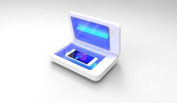 SmartWash, el aparato que elimina los microbios de tu móvil en 20 segundos buscan financiación en Indiegogo
