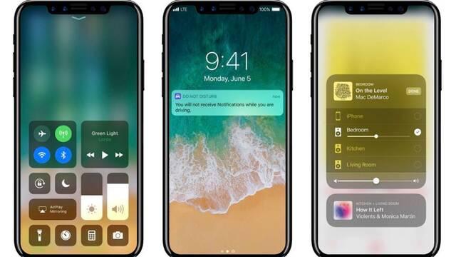 Una nueva filtración de Apple da pistas sobre el diseño del nuevo iPhone 8