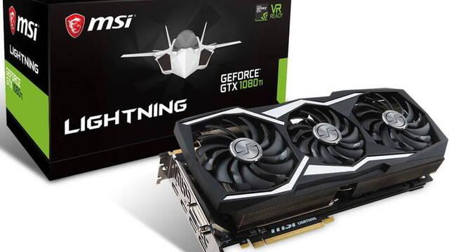 MSI anuncia la GeForce GTX 1080 TI Lightning Z, estas son sus características