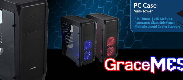 ENERMAX lanza GraceMESH, una semitorre con mucho espacio en su interior